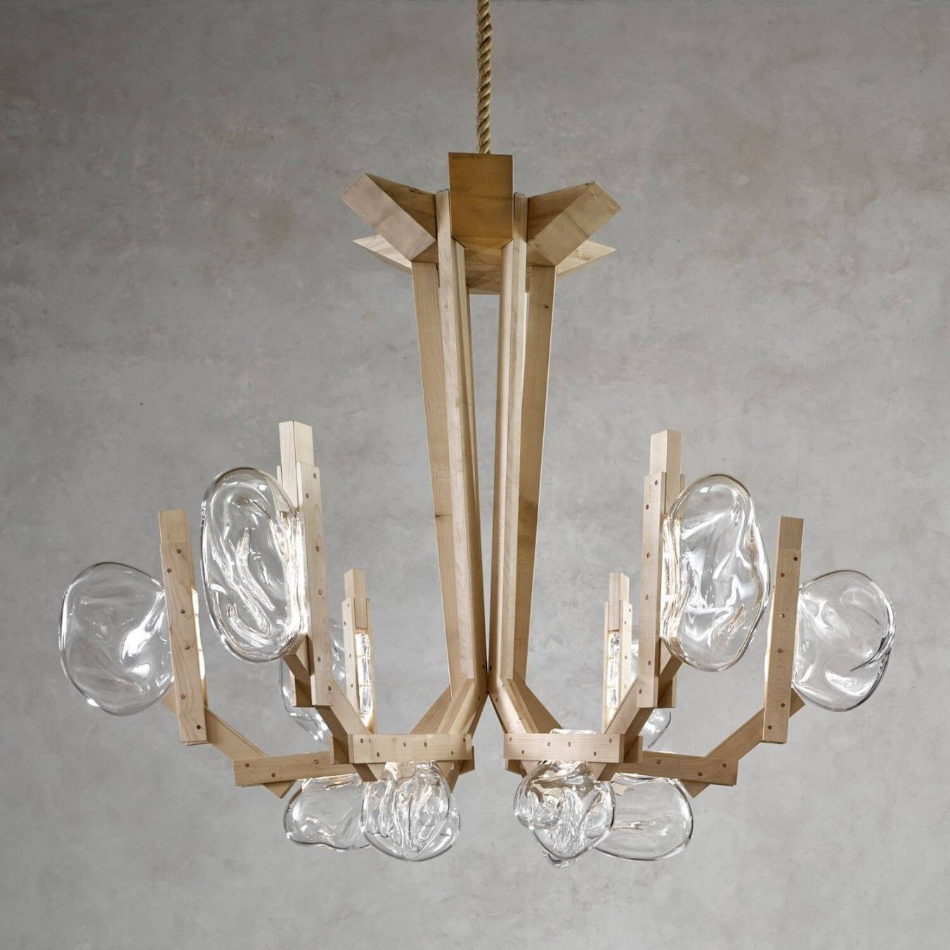 exclusive chandelier by Lasvit